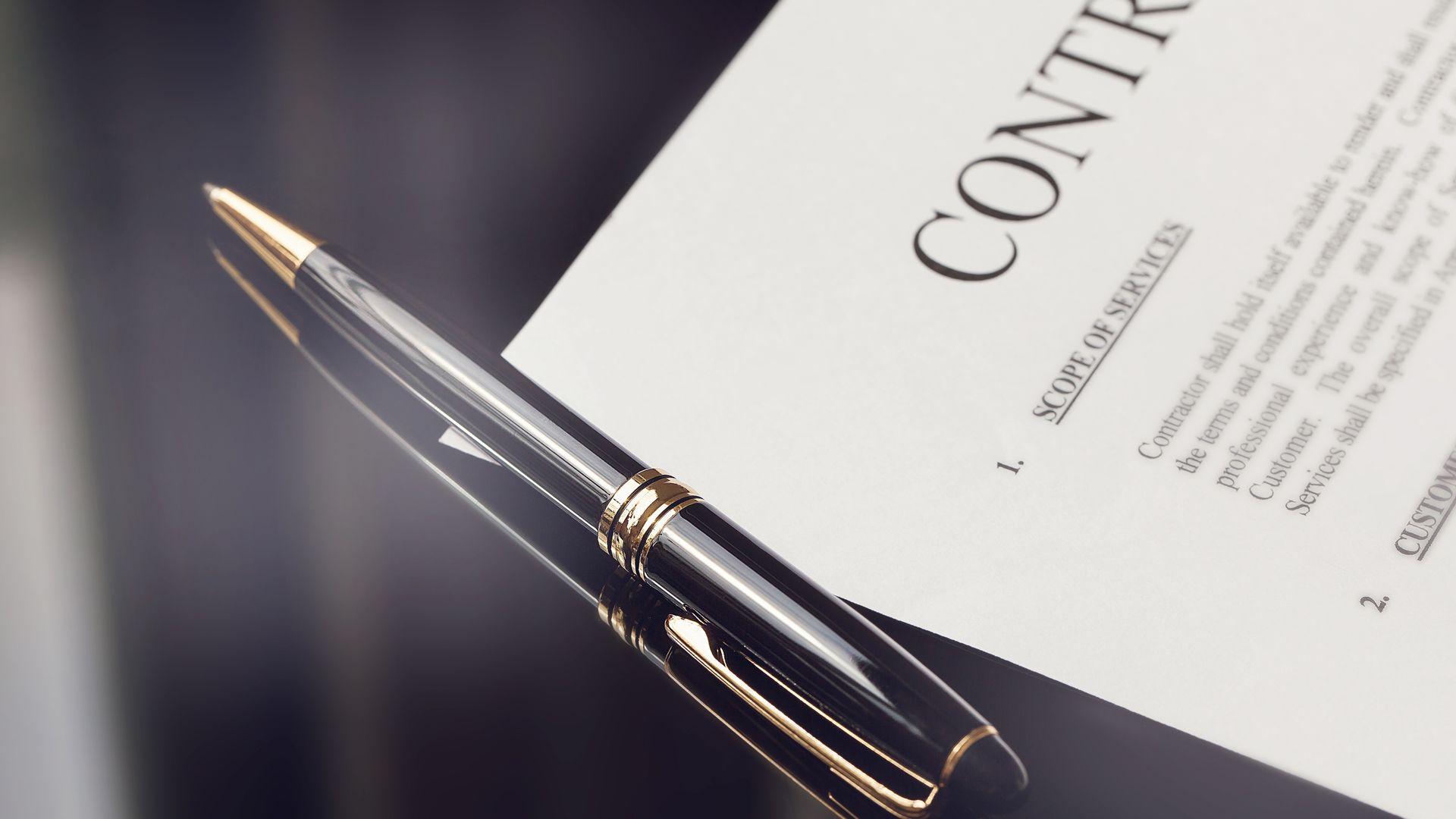 Contractenrecht Overeenkomstenrecht contract law